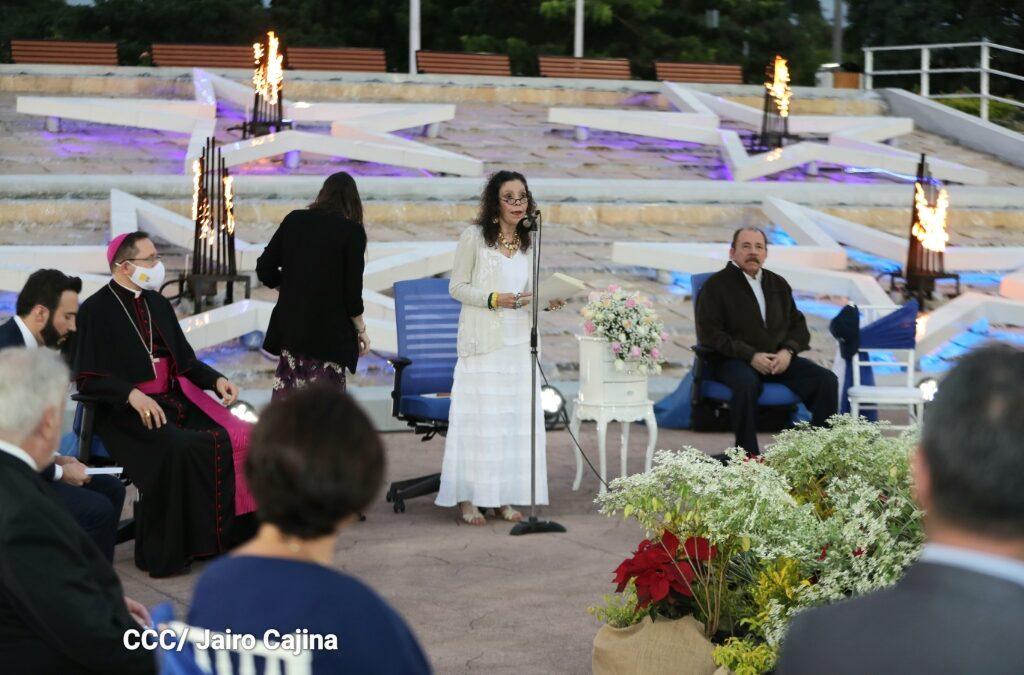 Rosario Murillo: Los nicaragüenses queremos vivir en Paz, que nos respeten