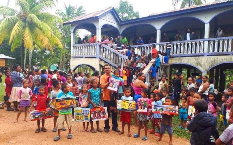 Niños nicaragüenses afectados por huracanes Iota y Eta recibirán juguetes