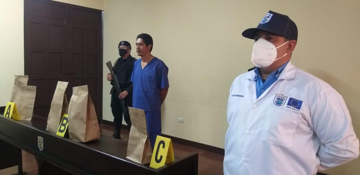 Policía esclarece homicidio en barrio Sutiaba de León