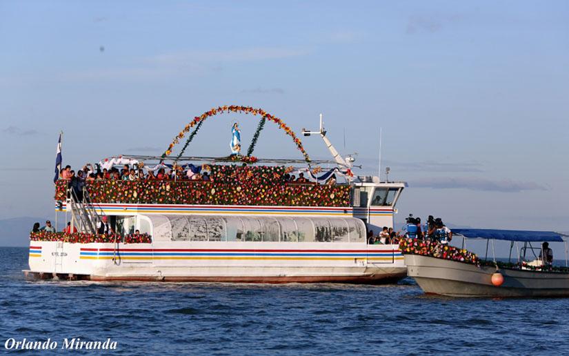 Realizarán Purísima acuática en el puerto Salvador Allende