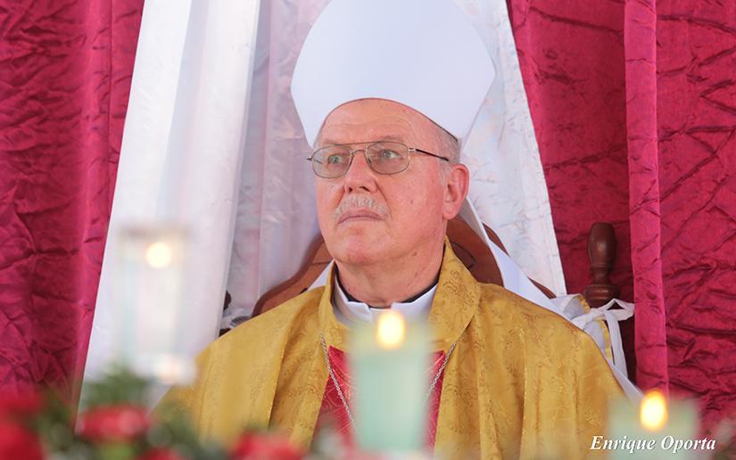 Nicaragua honra legado del obispo de Siuna David Albin Zywiec Sidor
