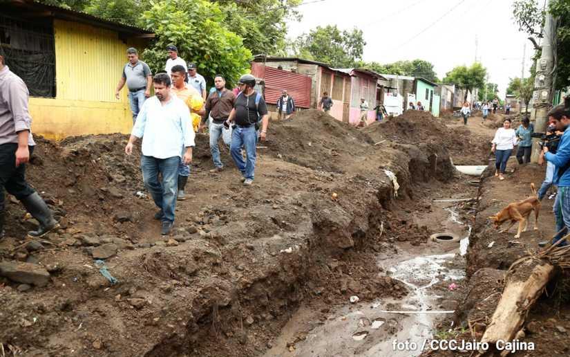 Disminuyen puntos vulnerables a inundaciones en Managua