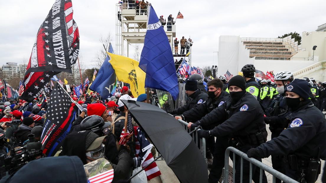 Simpatizantes de Donald Trump irrumpen el Capitolio en Washington