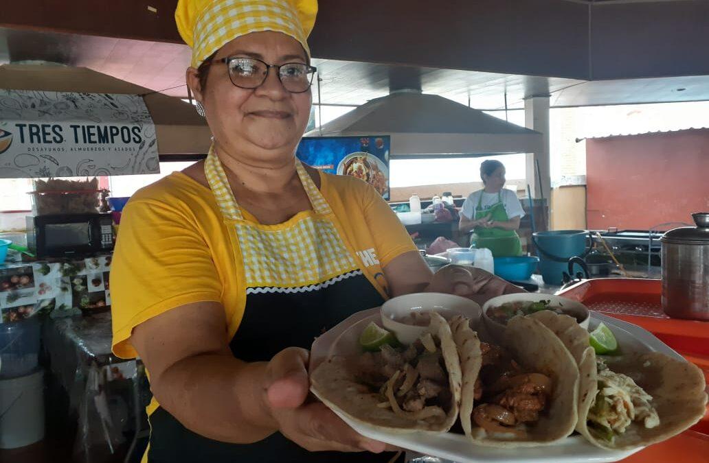Tiangue Hugo Chávez, el preferido para deguste de la gastronomía nicaragüense