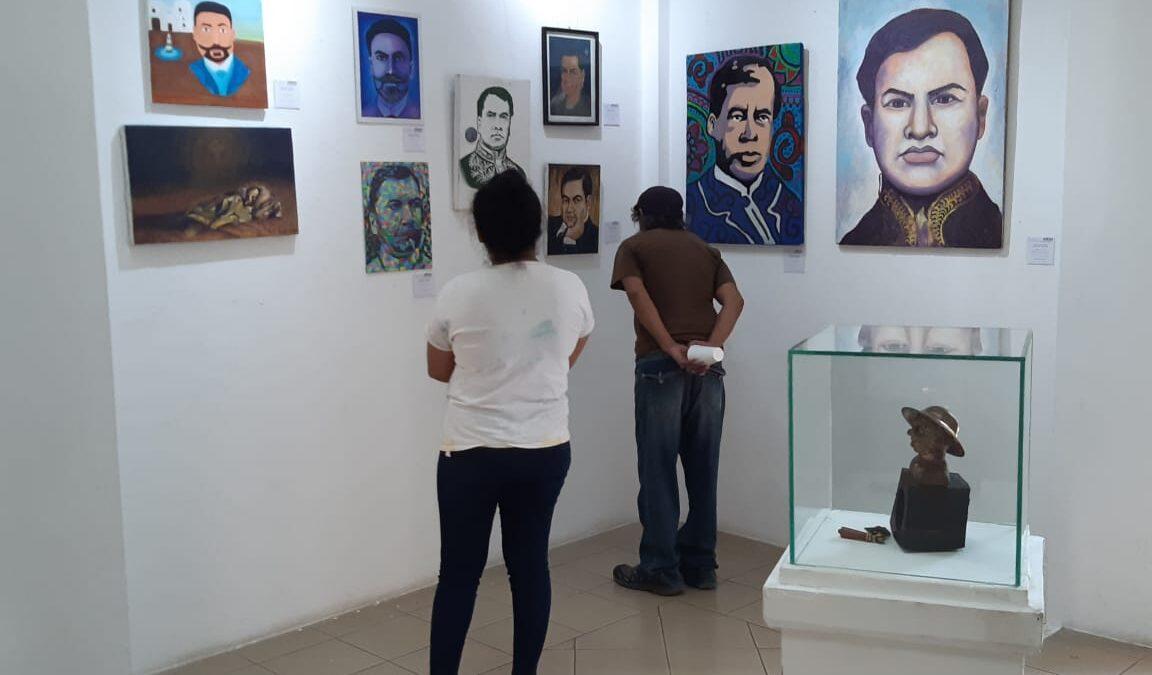 Exponen pinturas inspiradas en la poesía de Rubén Darío