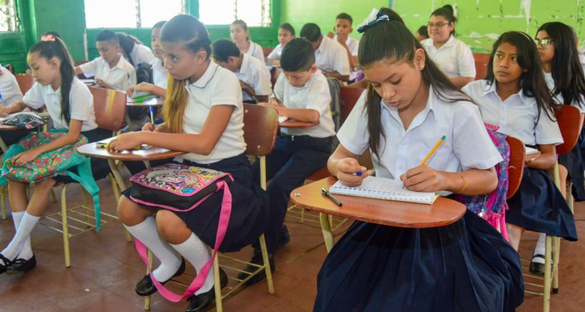 Nicaragua se prepara de cara al año escolar 2021