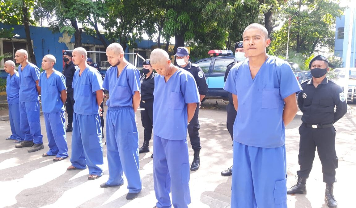 18 sujetos vinculados a delitos son capturados por la policía en Chinandega