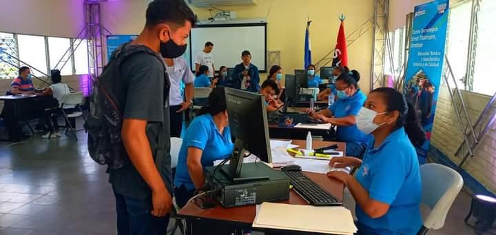 Apertura de matriculas en el Centro Tecnológico de Jinotepe