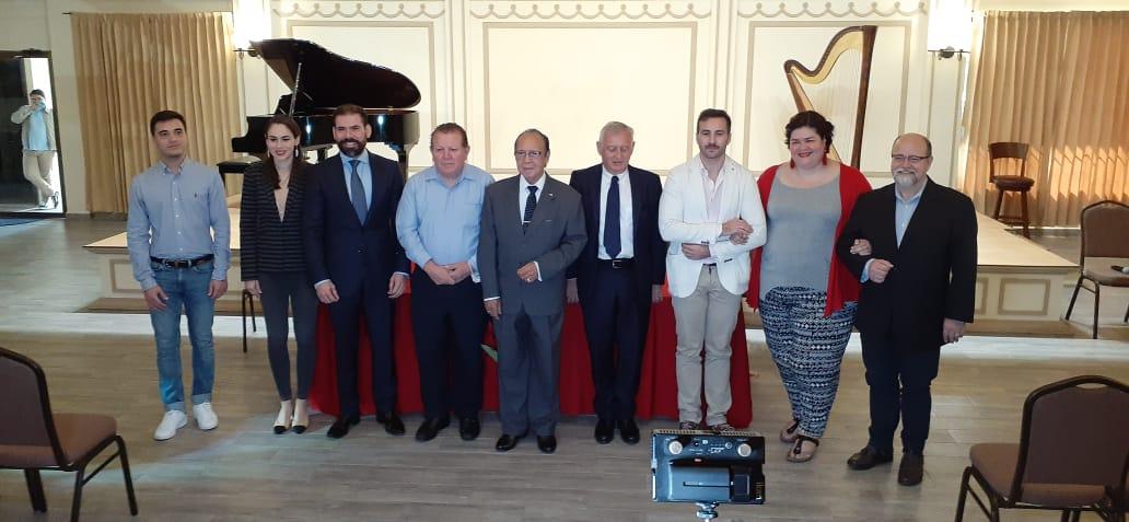 Inician cursos magistrales de música con maestros italianos