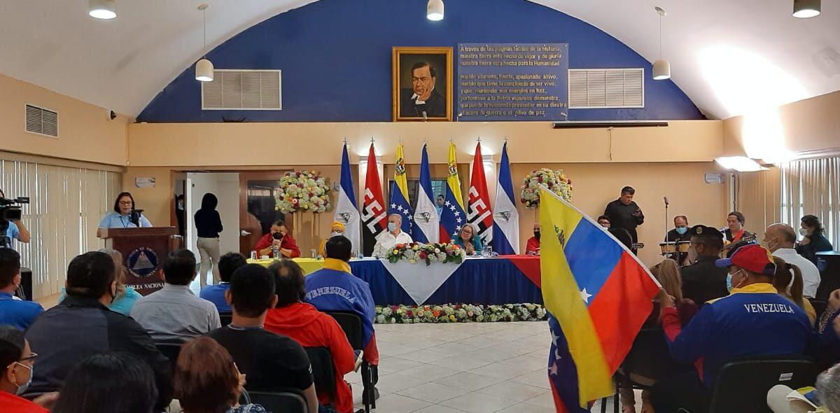 Conmemoran el Día de la Amistad entre Nicaragua y Venezuela