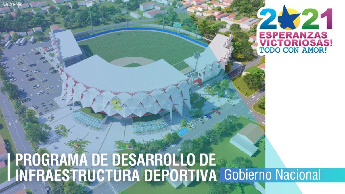 Nicaragua invertirá un aproximado de cuatro mil millones de córdobas en infraestructuras deportivas