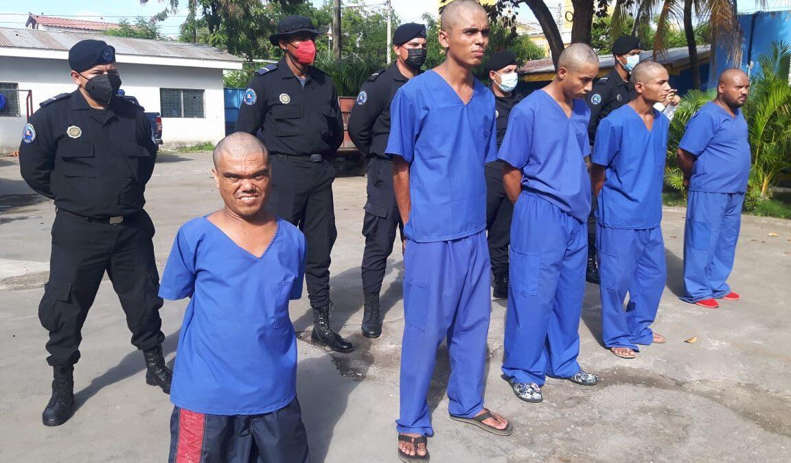 Policía Nacional captura 18 sujetos de alta peligrosidad en Chinandega