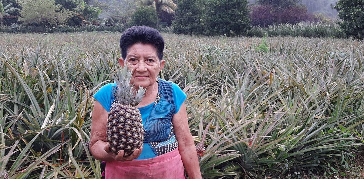 Productora de Ticuantepe aprovecha al máximo sus tierras