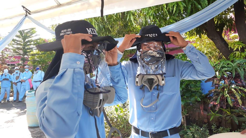 Brigadistas de salud reciben kits de protección