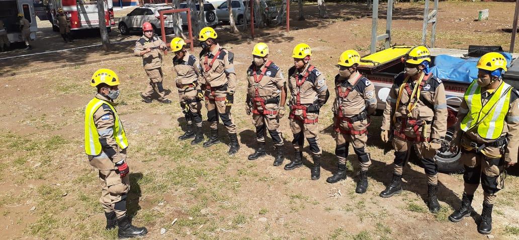 Unidad de Búsqueda y Rescate de los bomberos mejor preparados para emergencias