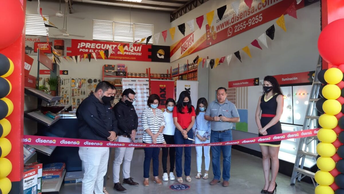 Inauguran la primera ferretería Disensa MAX en Nicaragua