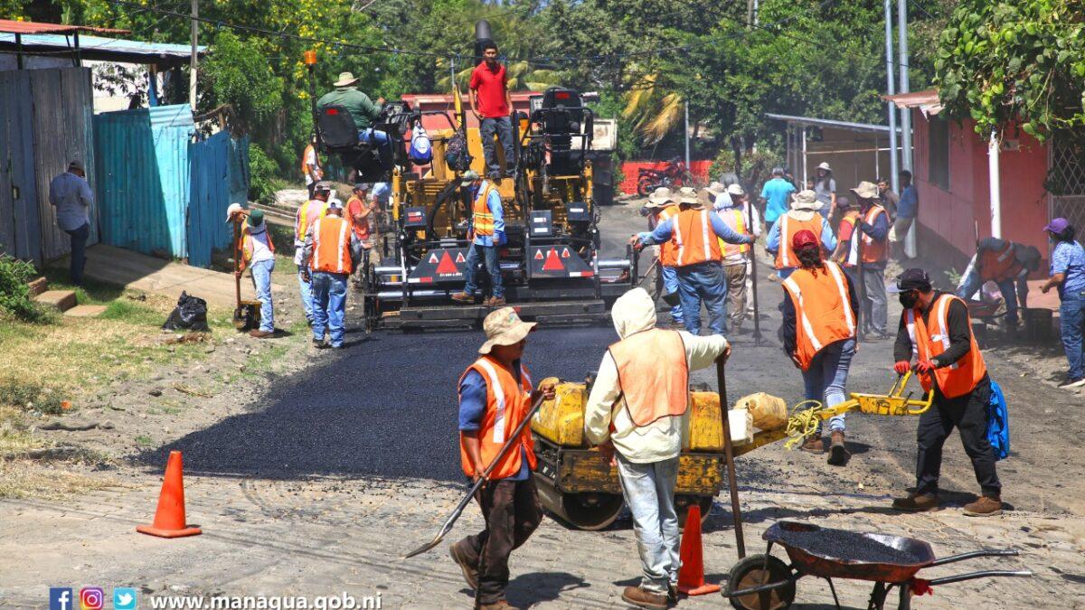 54 cuadras nuevas se han construido en Managua en lo que va del 2021
