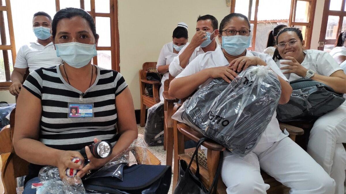 Personal de salud de Nueva Segovia recibe insumos médicos