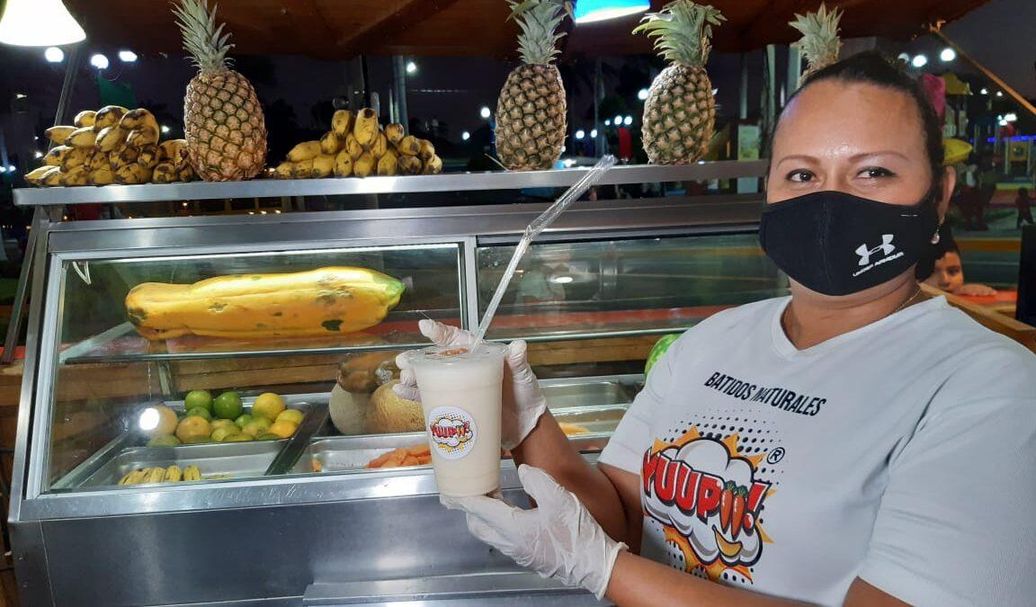 Yuupii, el sabor natural en puerto Salvador Allende
