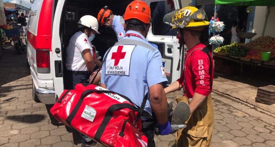 Accidentes de tránsito, las atenciones frecuentes de Cruz Roja Nicaragüense
