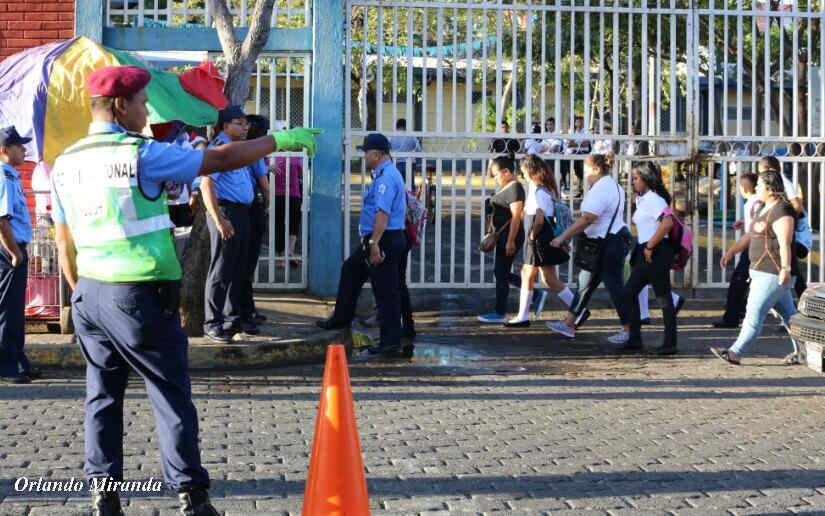 Fortalecerán seguridad dentro y fuera de las escuelas de Nicaragua