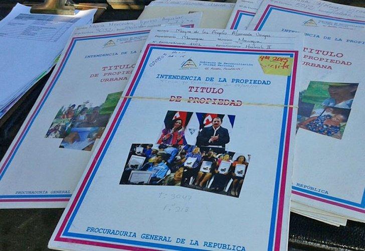 PGR entregará este 2021 30 mil títulos de propiedad a familias nicaragüenses