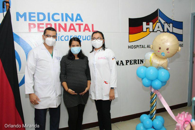Inauguran clínica materno – fetal en el hospital Alemán Nicaragüense