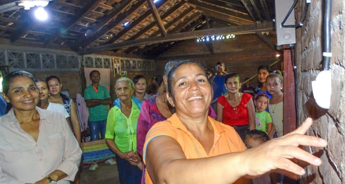 Más comunidades de Nicaragua cuentan con energía eléctrica