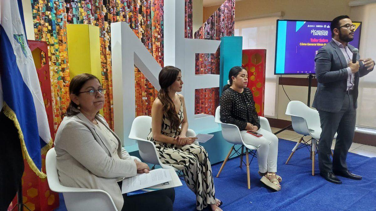 Inician ciclo de capacitaciones de Nicaragua Emprende