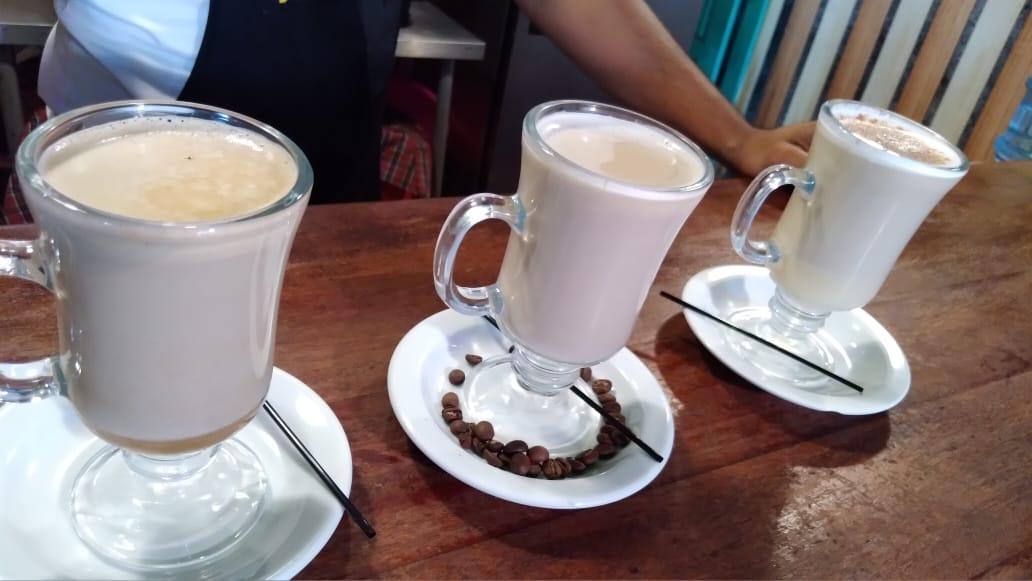 Nuevas bebidas calientes en la Casona del Café