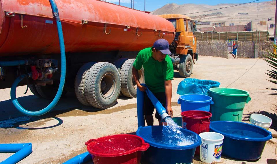 Fortalecen abastecimiento de agua potable con cisternas