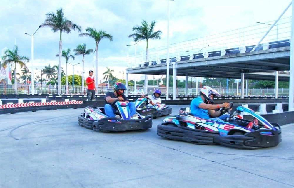 Participe en carreras de velocidad con su pareja