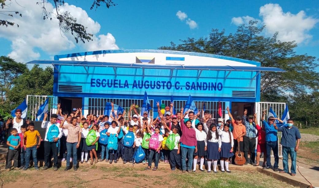 Inauguran moderna escuela en El Paraíso, Boaco