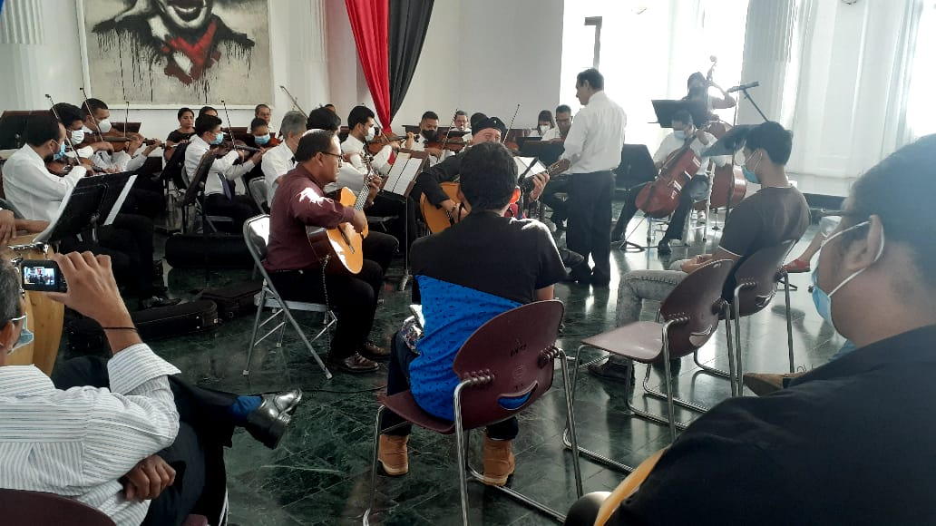 Realizan concierto inaugural para nuevos estudiantes de música