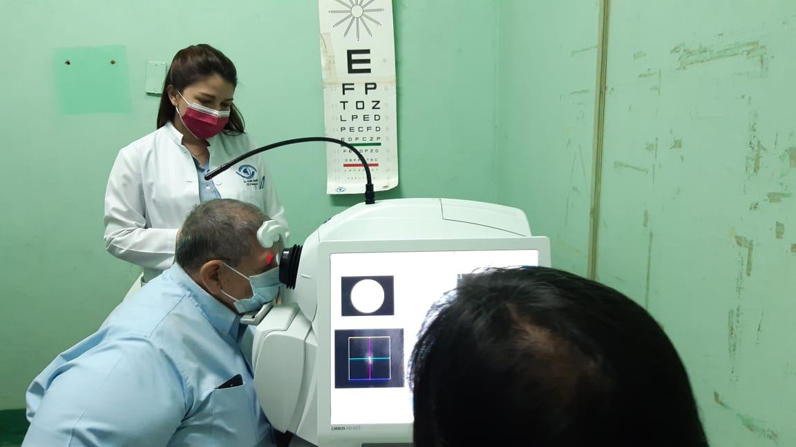 Nicaragüenses ya no deben ir a otros países a hacerse tomografías ópticas