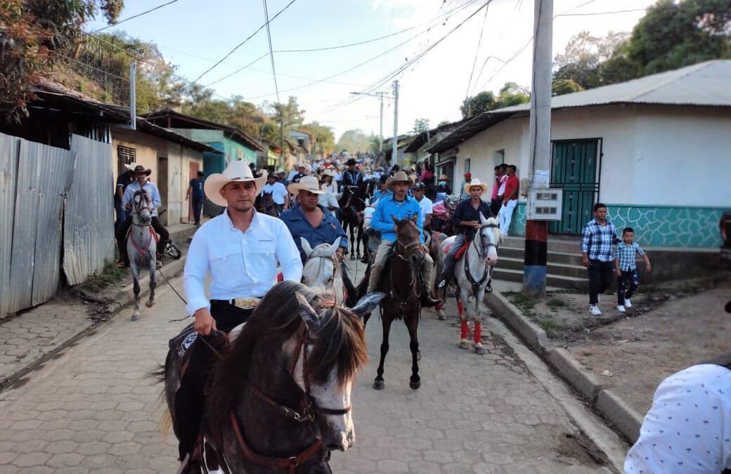 Desfile hípico 2021 en El Jicaro, Nueva Segovia