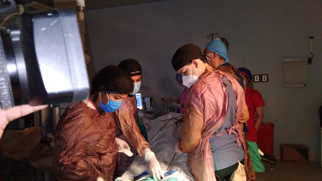 Tres días de jornada extraordinaria de cirugías gratuitas en el hospital Manolo Morales