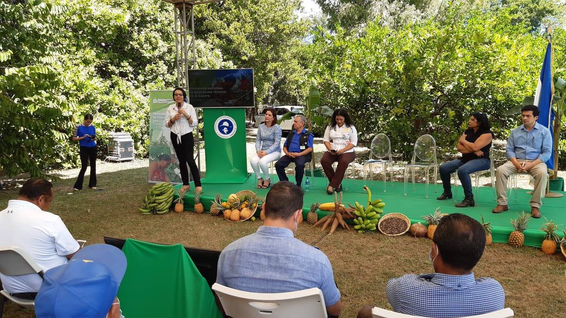 Nicaragua: Inician matrículas con el modelo de Educación Técnica en el Campo