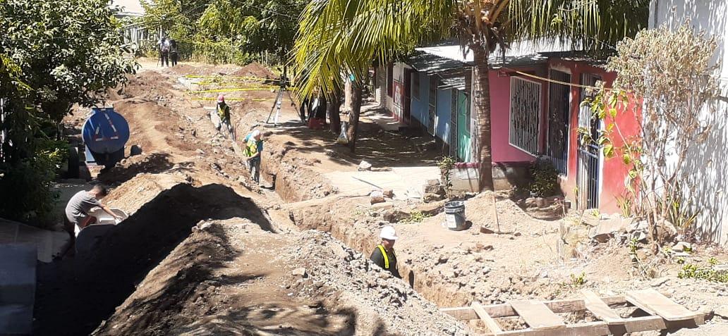 Municipalidad completa obras de drenaje en barrio La Primavera