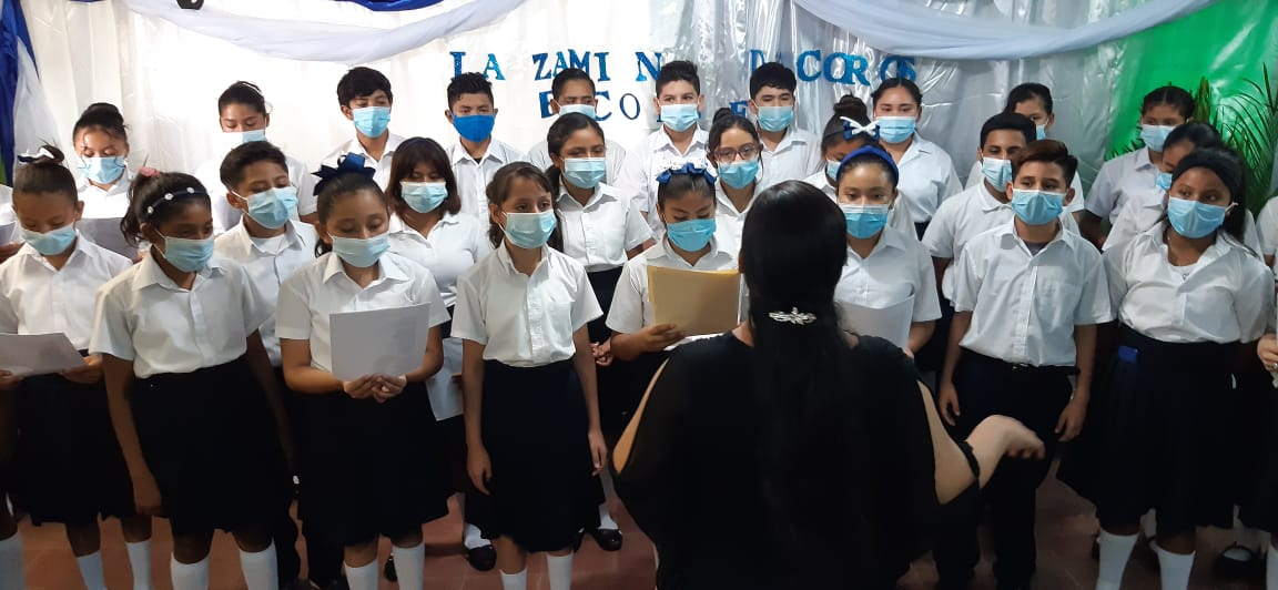 Coros estudiantiles fortalecen aprendizaje en escuelas de Nicaragua