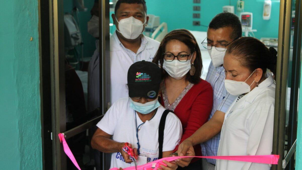 MINSA habilita Unidad de Cuidados Intensivos del hospital de Ocotal