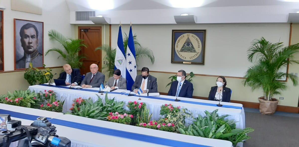Nicaragua y Honduras trabajarán en temas de salud y cambio climático