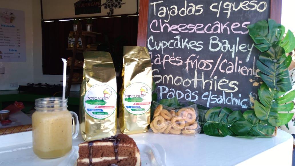 Indio Viejo Café, un emprendimiento donde puede degustar postres caseros