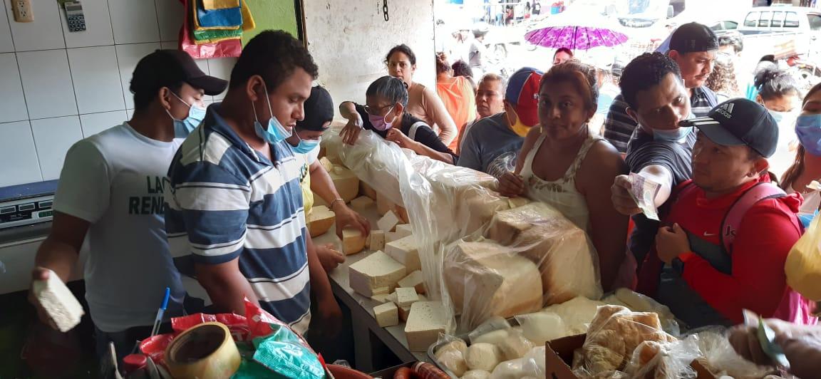 La libra de queso seco baja 10 córdobas en Managua