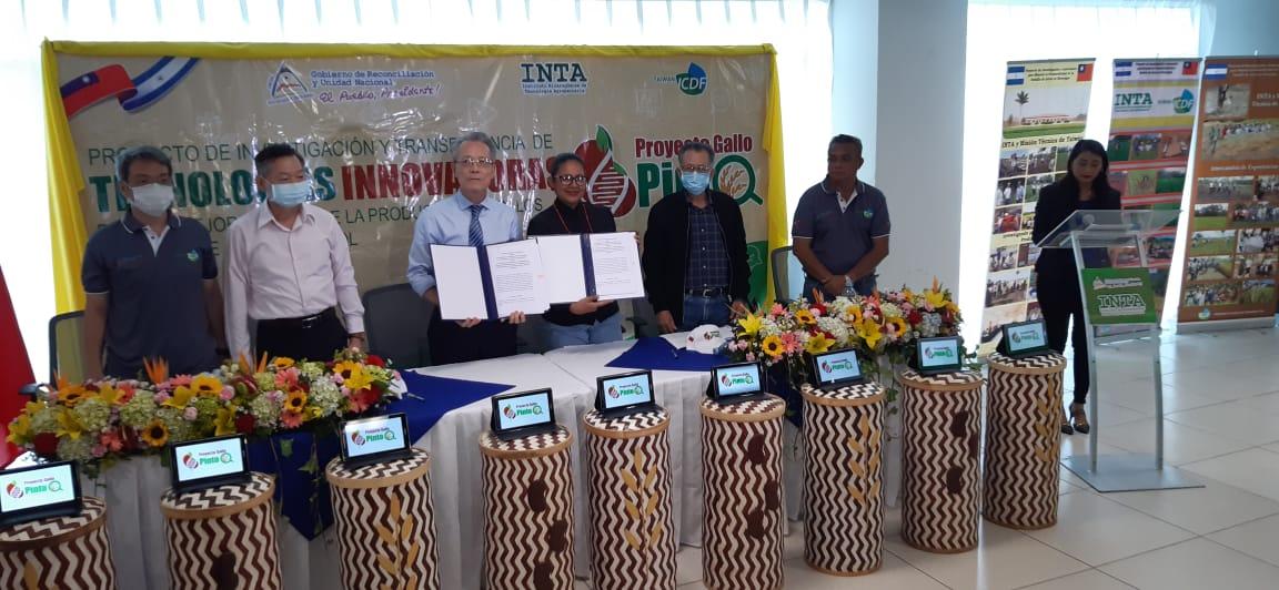 Nicaragua inicia proyecto para aumentar producción de arroz y frijol