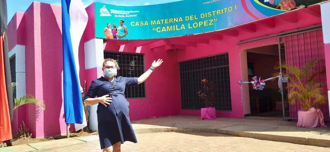 Inauguran nueva casa materna en Managua