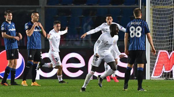 Real Madrid superó de visita al Atalanta y quedó a un paso de los 4tos de final en Champions