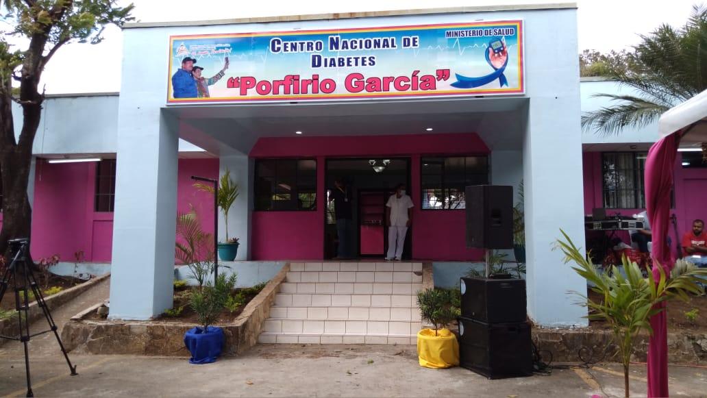 Inauguran Centro Nacional de Diabetes en Managua