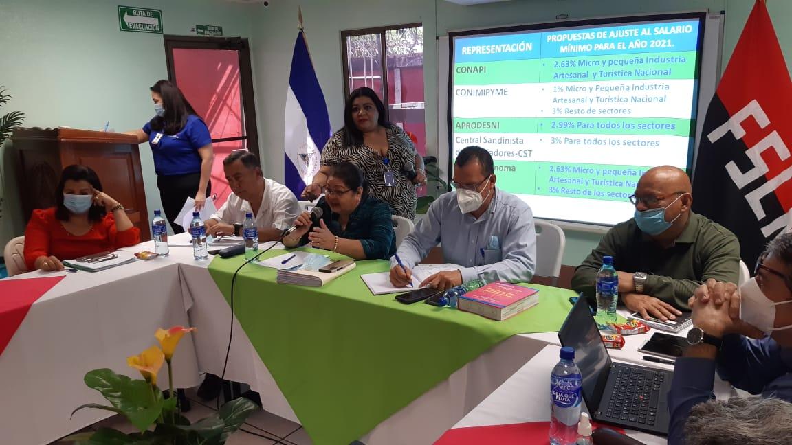 Salario mínimo aumentará 3% en Nicaragua
