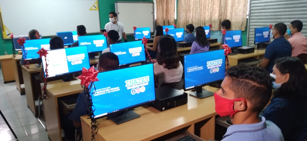 Equipan con 21 computadores el Tecnológico Simón Bolívar